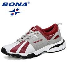 BONA 2019 New Designer Classics Style Men Running Shoes Outd