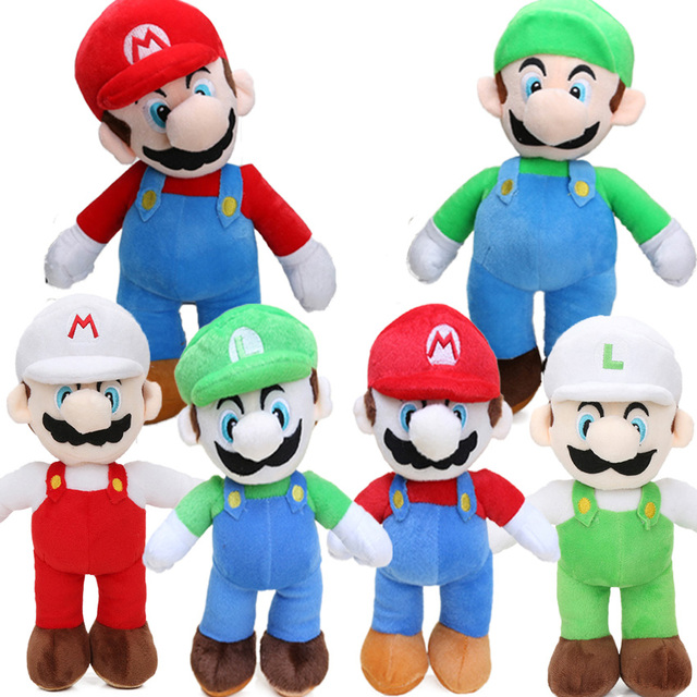 Jogo 25 cinco centímetros Super Mario Bros Luigi Yoshi Suave Plush Toys Cosplay Figura Runing Yoshi Bonecas Animais Brinquedos Peluches bebe