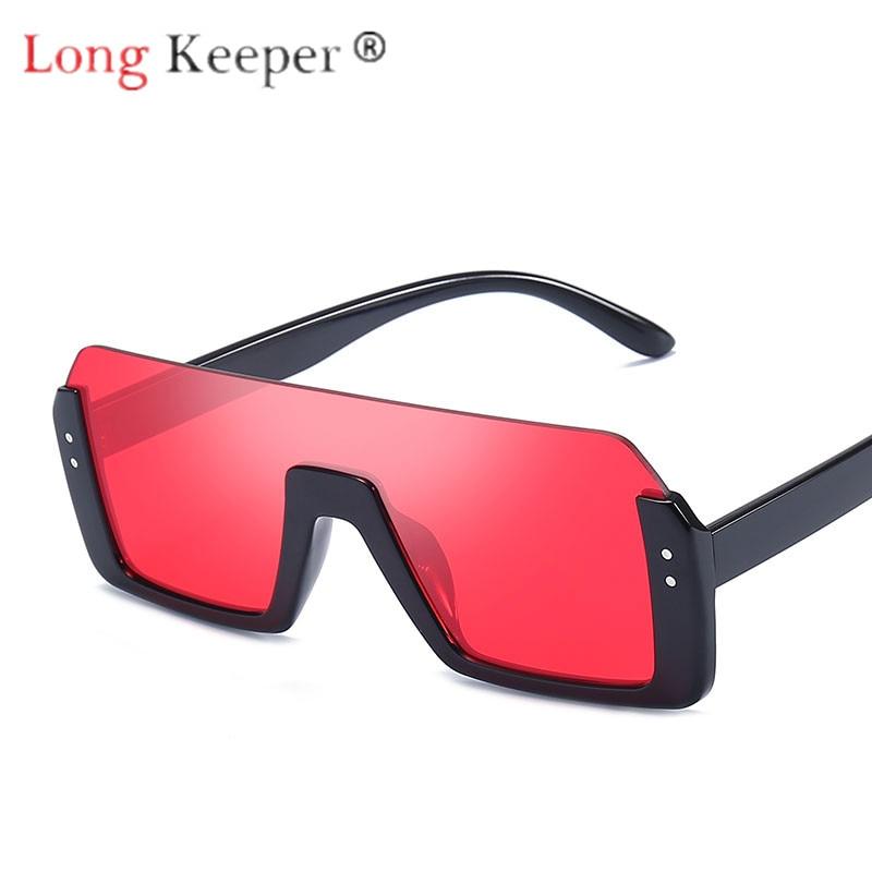 Flight Tracker Lange Keeper Sonnenbrille Männer Frauen Retro Quadrat Sonne Gläser Brillen Brillen Pc Großen Rahmen Hd Objektiv Uv400 Doppel Strahl Mode Neue Ruf Zuerst