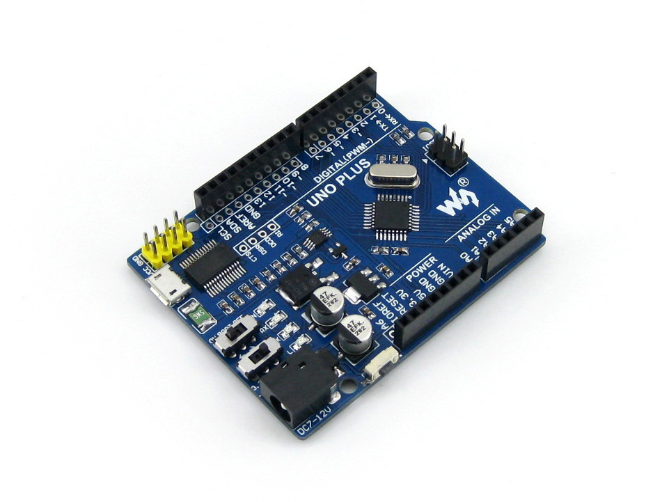 AVR Board UNO PLUS Onboard MCU ATMEGA328P-AU for Arduino R3 Kit Improved & Enhanced Solution Development