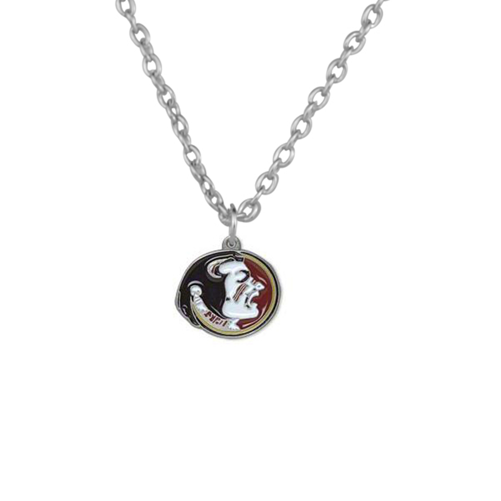 Skyrim Florida State Seminoles Football FSU Necklace Jewelry for Female or Male