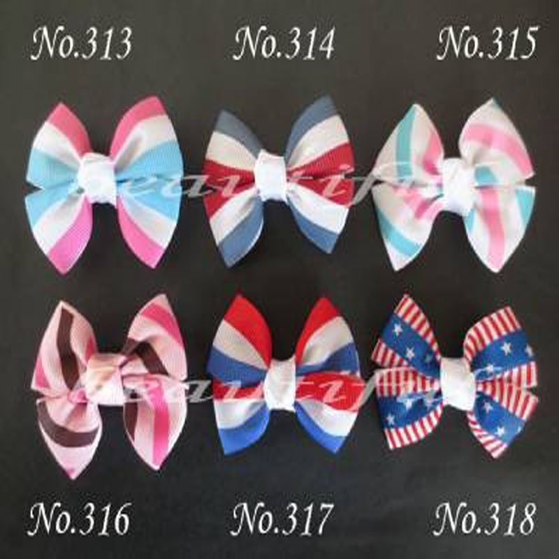 """100 BLESSING Good Girl Costume Boutique 6.5"""" Ring Hair Bow Clip 98 No Custom"""