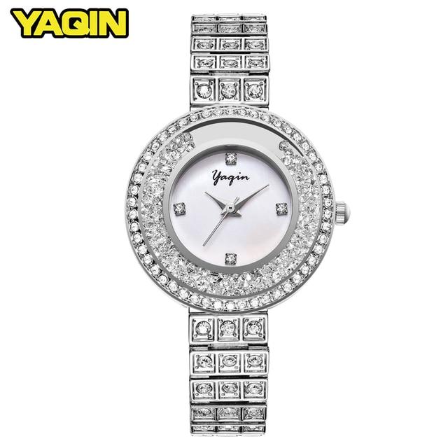 2017 new female diamond watch lady dress women watch diamond luxury brand bracel
