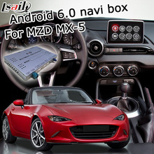 Android 6 0 GPS navigation box for Mazda MX 5 miata with mirror link youtube google