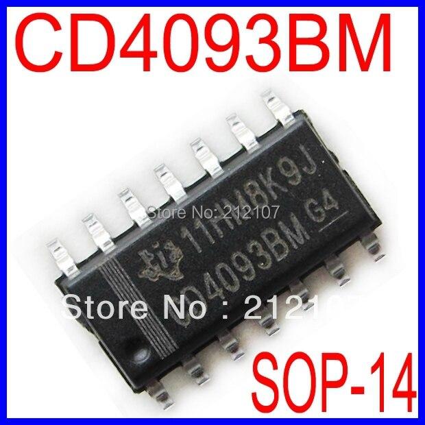 Электронные компоненты и материалы Cd4093bm HCF4093