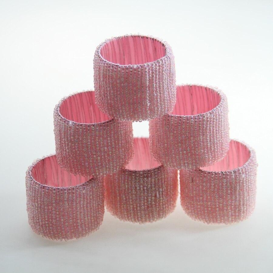 white coral napkin ring, wholesale cheap napkin holder-in Napkin ...