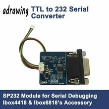 Ttl к RS232 последовательный преобразователь DB9 Интерфейс Портативный к Ibox4418 Ibox6818 развитию