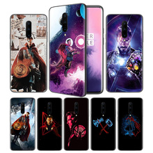 Dr. Doctor Strange Soft Black Silicone Case Cover for OnePlus 6 6T 7 Pro 5G Ultra-thin TPU Phone Back Protective