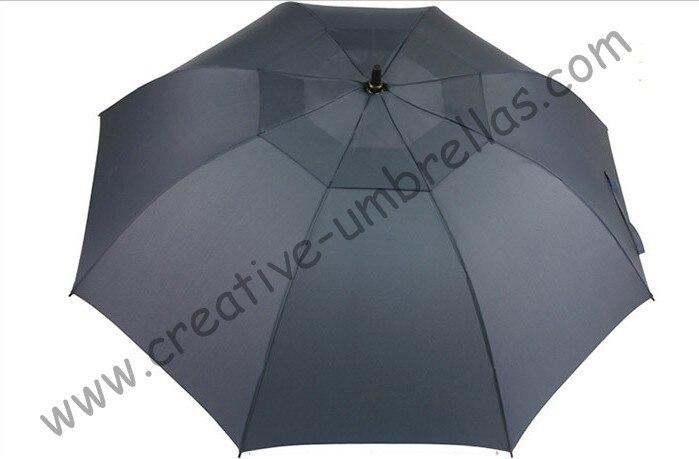 Free shipping,professional straight golf umbrellas 14mm fiberglass shaft and 5.0mm fiberglass ribs,auto open,windproof