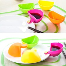 4pcs Seasoning Dishes Clips Multi-purpose Snacks Dumplings Garbage Can
