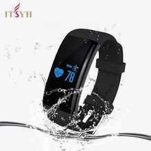 Шагомер браслет умный Браслет монитор сердечного ритма фитнес-трекер Smart Band IOS телефона Android D21 TW-403