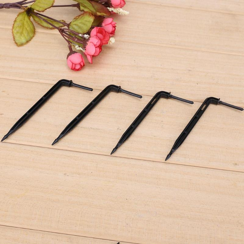 50pcs Bend Arrow Dripper Micro Drip Irrigation Drops Emitters Sprinkler Drip UK