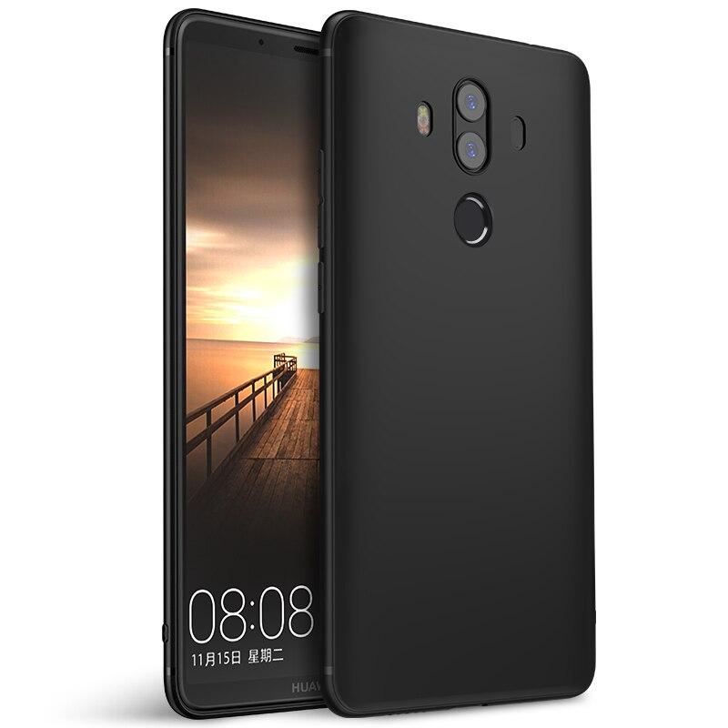 Huawei Mate 10 Pro Case Mate10 PRO Case Cover Silicone Back Soft Ultra Thin Matte Protect BLA AL00 Huawei Mate 10 Pro Case