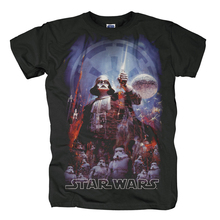 2016 Star Wars The Empire Fashion T shirt T shirt Sports Street Hip Hop Fashion Casual