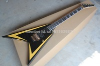 Free Shipping ESP LTD Flying V Custom Shop Blood Tears James Hetfield Electric Guitar Floyd Rose