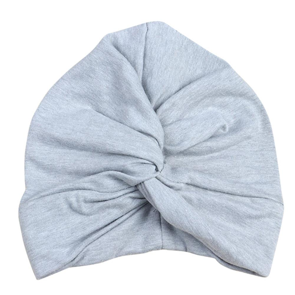 Indian Style Cap Turban Cross Flower Baby Hat Twisting Hat Newborn Toddler Kids Baby Boy Girl Turban Cotton Beanie Cap in Hats Caps from Mother Kids