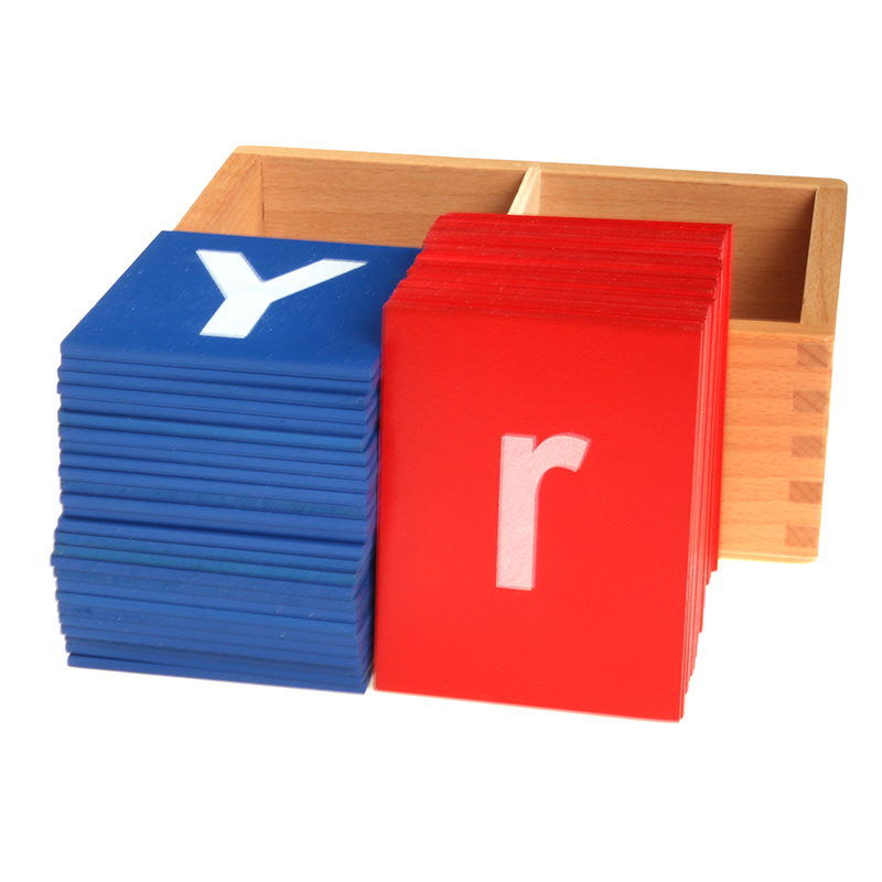 Montessori Baby Toys Montessori Sandpaper Letters Educational Early Learning Toys For Children Juguetes Brinquedos MG1465H montessori wooden math toys for children boys digital learning education early educational game brinquedos oyuncak