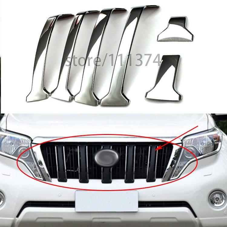 ₪Nulla 2 estilos Grille cubierta TRIM Marcos decorativo para Toyota ...