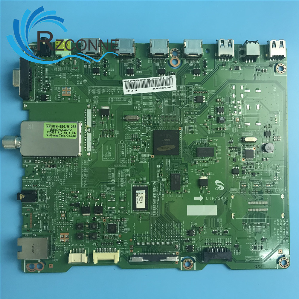 Motherboard Mainboard Card For Samsung 40TV UA40D5000 bn41-01661A BN41-01661A BN41-01747A ltj400hm04 LTJ400HM03-H BN91-06919M 95% new for samsung ua46d5000pr board bn41 01747a bn94 07069u ltj460hn01 h screen on sale