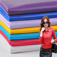 138 50cm1pc Good PU Leather Fabric Faux Leather Fabric Synthetic Leather Fabric DIY Sewing Fashion Jacket