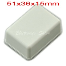 Небольшой настольный Пластиковый Корпус Корпус, Белый, 51x36x15 мм, ВЫСОКОЕ КАЧЕСТВО.