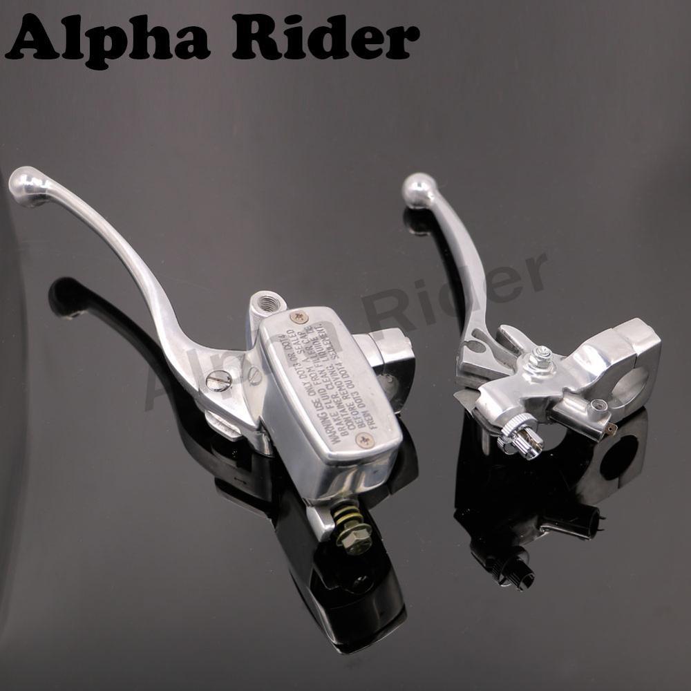 Clutch Brake Master Cylinder Reservoir Levers for HONDA Steed 400 600 Magna 250 750 Shadow Yamaha