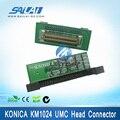 ¡Buen tipo! conector de cabeza de placa umc Konica km1024