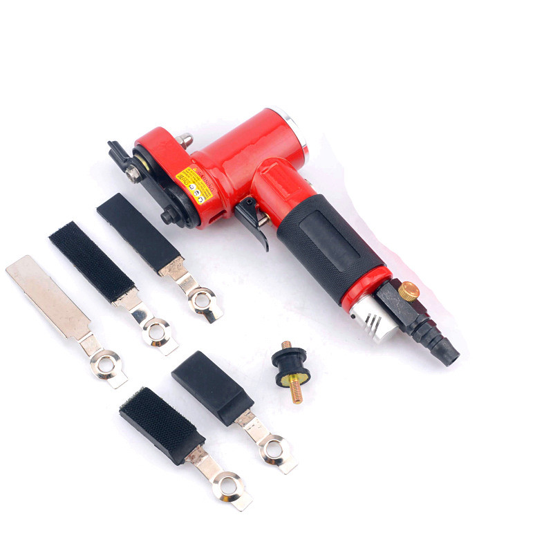 free shipping reciprocating type pneumatic sanding tool air polishing machine wind grinding tool sander machine 3mm move track swingable pneumatic eccentric grinding machine 125mm pneumatic sander 5 inch disc type pneumatic polishing machine
