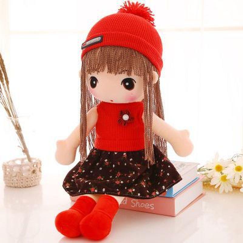 45cm Girls Dolls Fantasy Stuffed Baby Toy Plush Wedding Rag Doll Cute Princess Dolls Valentine Sweet Birthday Christmas Gift