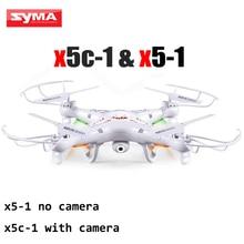 Profesión SYMA X5C-1 2.4G 4CH 6-Axis Drone Quadrocopter RC Helicóptero Con Control Remoto de la Cámara de 2MP O SYMA X5-1 NO cámara