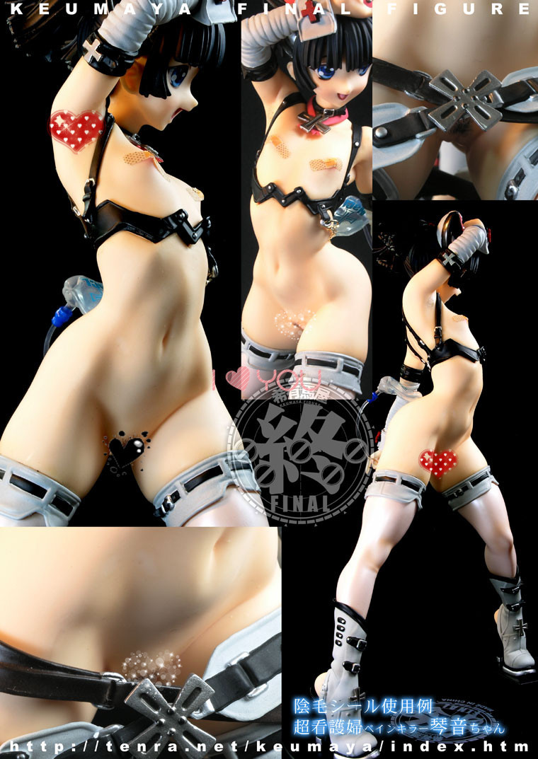 ФОТО Toranoana Keumaya Sexy Action Figure Final Hyper Nurse Adult PVC Figure