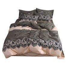 Quattro Pezzi di Copertura Della Trapunta, esotico Full Size Federa caldo meraviglioso stampe con sognare stelle Delicatamente Ciclo Solo materasso pad letto