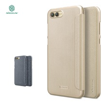 Nillkin Sparkle Flip Case For Huawei Honor V10 cover protective mobile