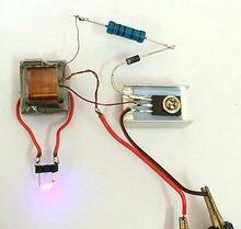 Комплект для самостоятельной сборки, генератор высокого напряжения постоянного тока, инвертор, Электрический Инвертор для батареи 18650