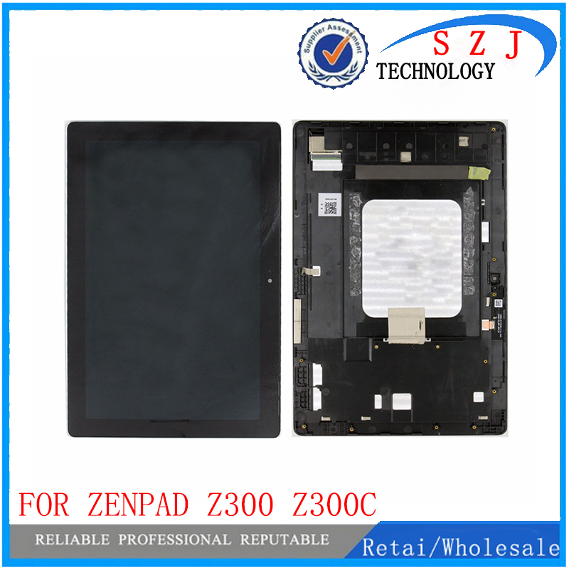 10.1 For Asus ZenPad 10 Z300 Z300C ZP023 LCD Display Touch Screen Digitizer Panel Assembly with frame Green 100% new for asus zenpad 10 z300c z300cg touch screen with lcd display assembly free tools