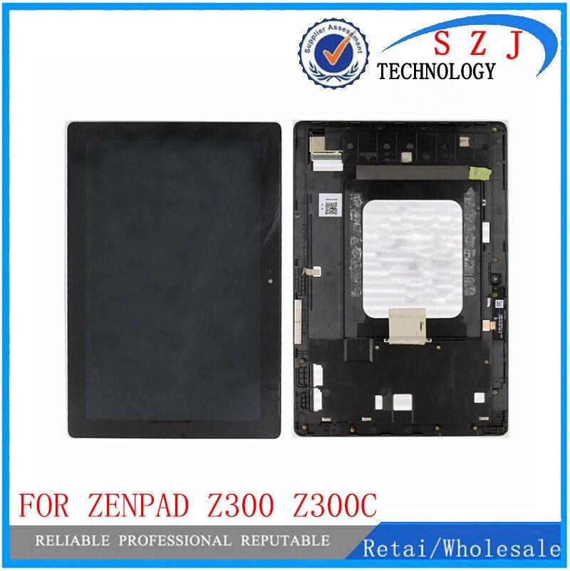Nouveau 10.1 Pour Asus ZenPad 10 Z300 Z300C ZP023 LCD Affichage à L'écran Tactile Digitizer Assemblée avec cadre Vert