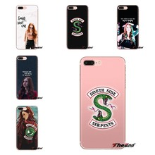 tv riverdale cheryl blossom Soft Transparent Shell Covers For Samsung Galaxy A3 A5 A7 A9 A8 Star A6 Plus 2018 2015 2016 2017(China)