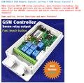 A prueba de agua de 7 salidas de relé para control de puertas y puertas de GSM o 4G Abridor de puerta de control de Control de Acceso de la puerta y otros máquina