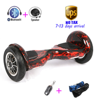 New Arrival 10 Inch Self Balancing Electric 4400amh 700w Hoverboard Standing Drift Electric Scooter Overboard Hover