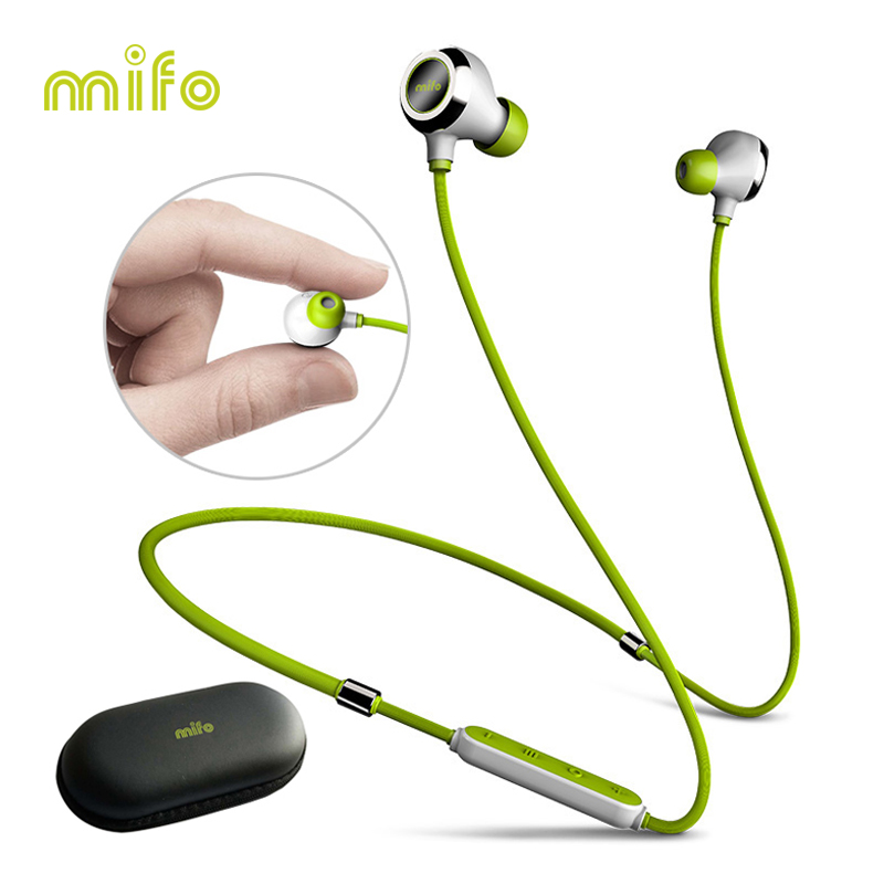 New Neckband Wireless Earphone Stereo Music Bluetooth Headset Workout Sport Earbuds Magnet Charging Noise Canceling Headphone