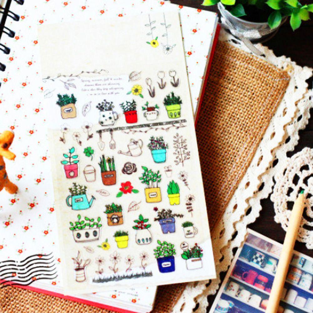 1 Pcs Hot Sale Sticker Sticker South Korea Sent Straight Sonia Perspective Epoxy Decorative Diary Albums Fragrance
