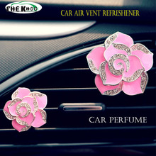 Car Perfume Air Freshener Supplement Auto Outlet Conditioner Vent Solid Products Gift