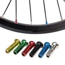 50 шт. MTB велосипедная спицевая крышка s 14 мм металлическая крышка s велосипедная медная Серебряная спицевая крышка велосипедные соски для верховой езды красочные аксессуары