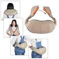 Multifunction Infrared 3D kneading massager Body Health Care U Shape Electrical Shiatsu Back Neck Shoulder Cellulite Massager