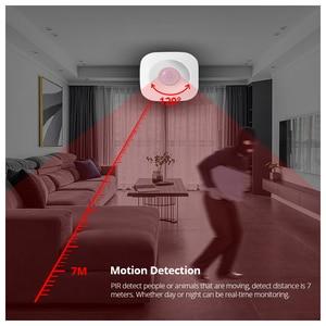 Image 3 - アプリ制御 wifi pir モーション検知器のアラームセンサーホームセキュリティワイヤレスミニ pir 運動センサー盗難警報センサー
