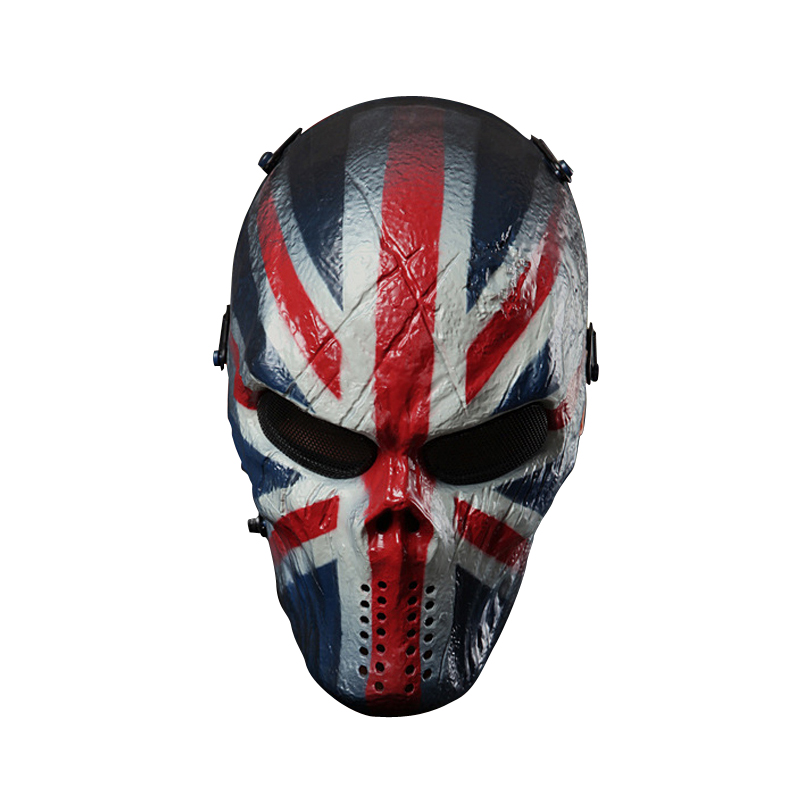 Typhoon Camouflage Hunting Accessories Masks Ghost Tactical Military CS Wargame Paintball Airsoft Skull Full Face Mask