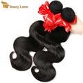 BELEZA LUEEN produtos para cabelo Birmanês onda do corpo do cabelo virgem 500g na venda de 100% cabelo humano weave extensions onda do corpo Birmanês feixes