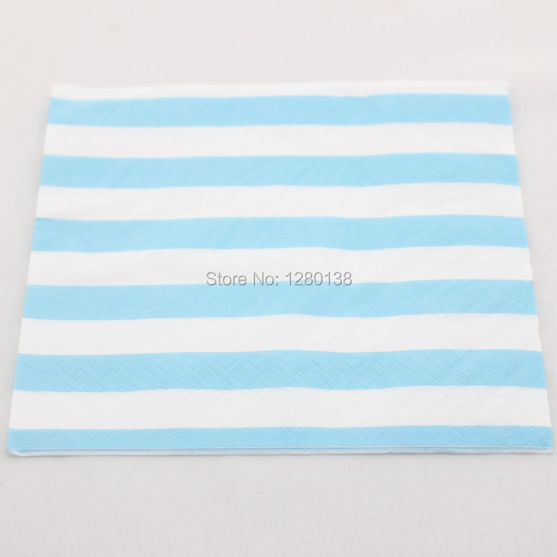 Disposable Blue Party Tableware Set Striped Paper Plates Paper Cups Wedding Party Decoration Paper Napkins Paper Straws-in Disposable Party Tableware from ...  sc 1 st  AliExpress.com & Disposable Blue Party Tableware Set Striped Paper Plates Paper Cups ...