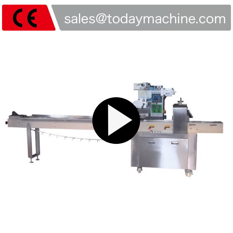 Food Packaging Machinery, Bread Packing Machine, Pillow Biscuits equipment