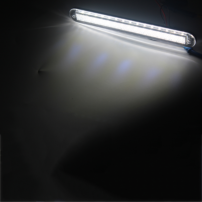 Image 5 - White Plastic Strip Light Marine Boat LED Light for 12V RV Camper Trailer Truck Waterproof-in Marine Hardware from Automobiles & Motorcycles